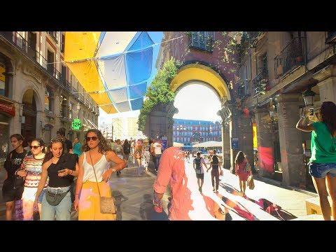WALKING In MADRID 🇪🇸 OPERA, SOL, PLAZA MAYOR And BACKSTREETS | SPAIN