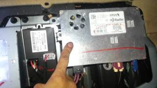 How to reset the radio on 2009 Mercedes GL450 displays please wait