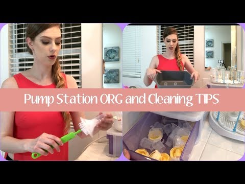 How to clean and sanitize pump parts (no boiling!) | Medela pump |
