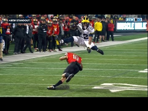 2017 Michigan Football Highlights @ Maryland
