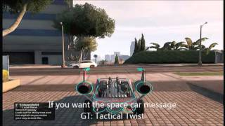 Gta 5 / Gta V Online - Free Space Car / Space Docker -  Xbox 360