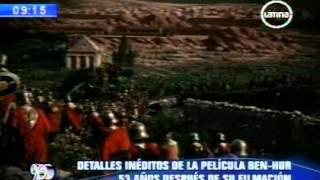 Detalles inéditos de la película Ben-Hur