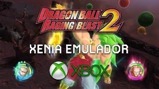 Xenia Emulador do Xbox 360 no PC - Game Play Dragon Ball Z Raging Blast 2