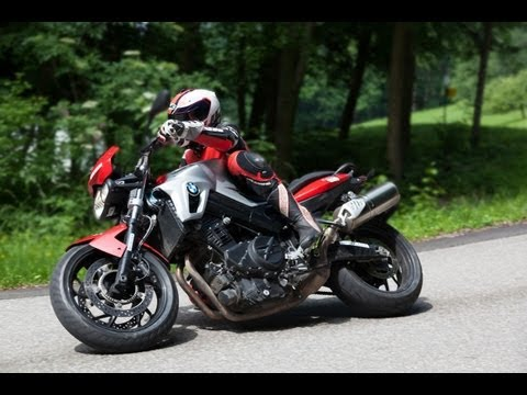 BMW F800R - Nakedbike Test