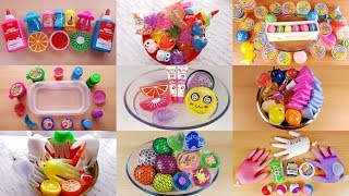 Download Mixing Store Bought Slime - 1 Hour Slime Video Compilation #StudySlime Mp3 and Videos