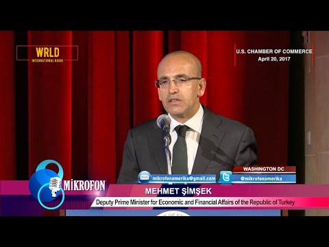 Mehmet Simsek on Turkey's economic outlook post-referendum