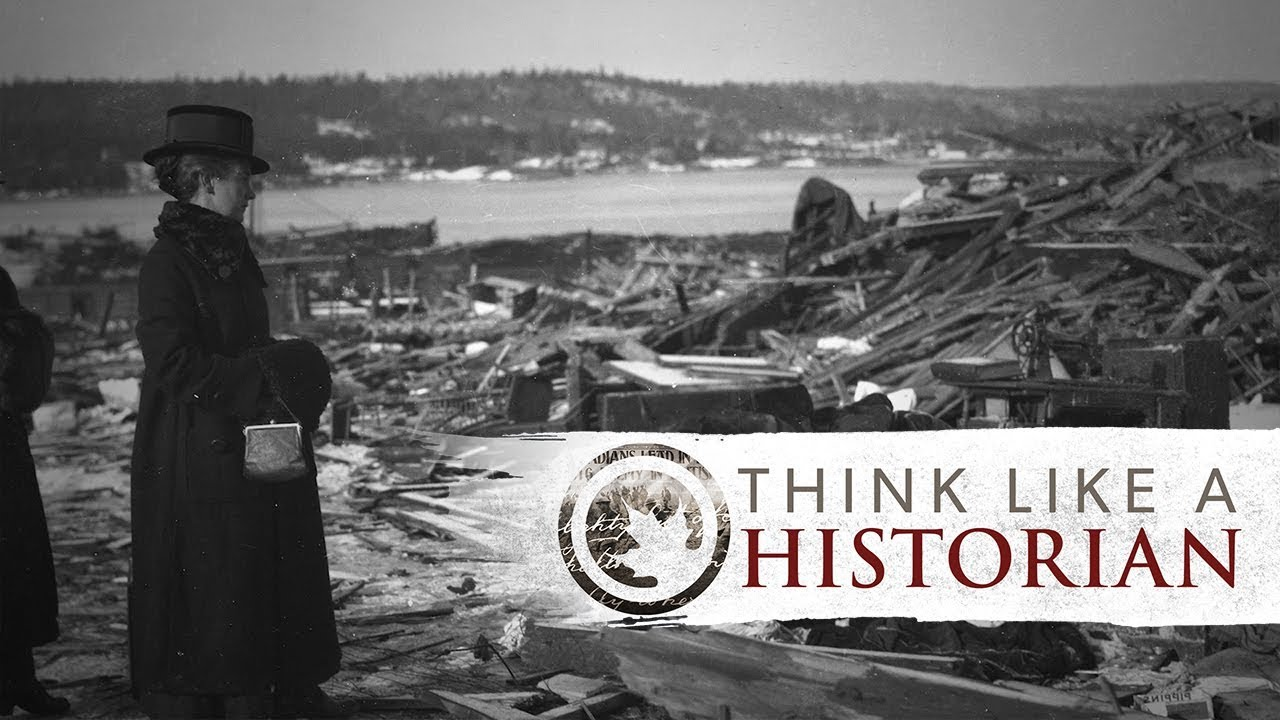 Think Like a Historian: Halifax Explosion in Letters