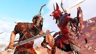 Assassin's Creed Origins Rage of Anubis Brutal Combat, Stealth Kills & Scepter Takedowns