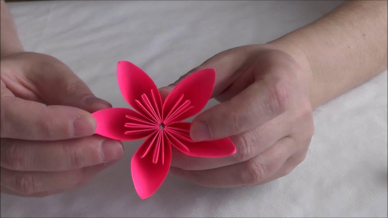 Kwiat Origami Kusudama Jak Wykonac Krok Po Kroku 6 Youtube