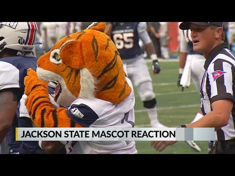 JSU Mascot Reaction