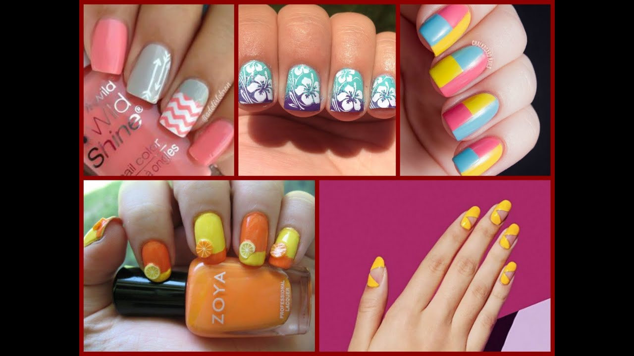 Top-35 Fashion Nail Art for Spring \\ Summer 2017 - YouTube