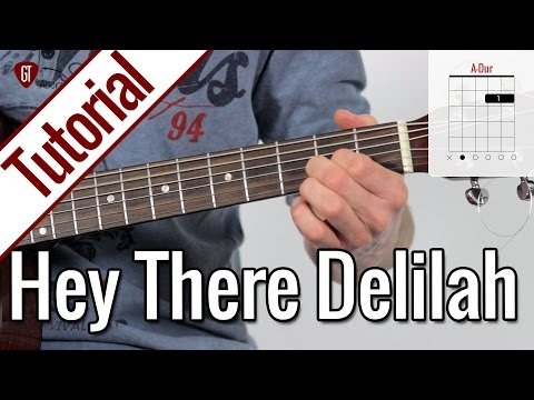 Plain White T's - Hey There Delilah | Gitarren Tutorial Deutsch