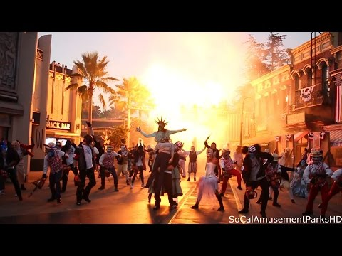 Halloween Horror Nights 2016 Opening Ceremony (FRONT ROW) The Purge Scarezone HD streaming vf