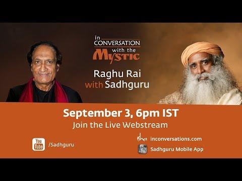 Raghu Rai With Sadhguru - Launch of Sadhguru Photobook: Sep 3rd 2018