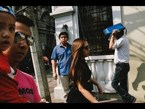 Working on Layers: Manila Street Photography GoPro POV with the Fujifilm x100s