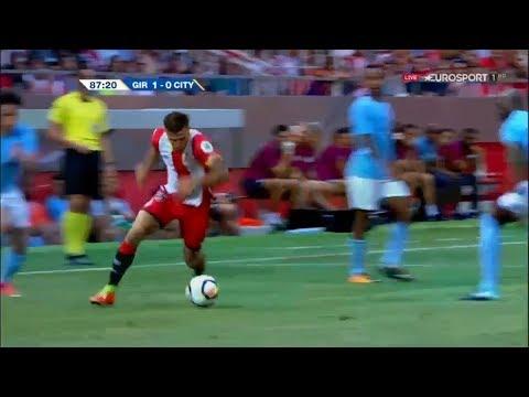 Pablo Maffeo roulette vs Manchester City (2017/2018) - 1080i