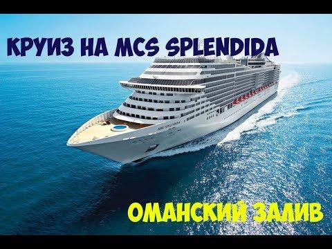 Наше путешествие: Дубай - о.Сир-Бани-Яс - Маскат. Круиз на лайнере MSC Splendida