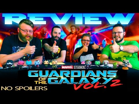 Non-Spoiler REVIEW!! Guardians of The Galaxy Vol 2