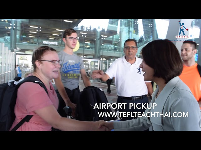 TEFL Course | Airport Pickup | Text-And-Talk | January 2019