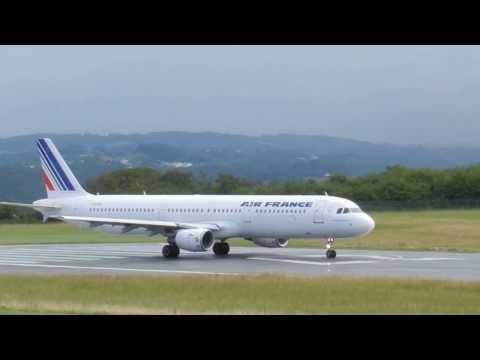 Air France F-GTAO Biarritz Airport (LFBZ)