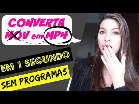 (Como Converter MOV em MP4) Instantaneamente SEM PROGRAMA | Juliana Zammar