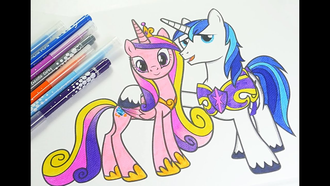 Mlp Coloring Book My Little Pony Coloring Pages For Kids