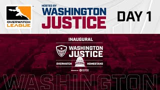 Overwatch League 2020 Season | Hosted By Washington Justice | Day 1