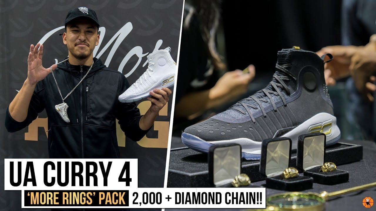 a9ae8ff8ca00 Under Armour Curry 4  MoreRings Championship Pack - YouTube