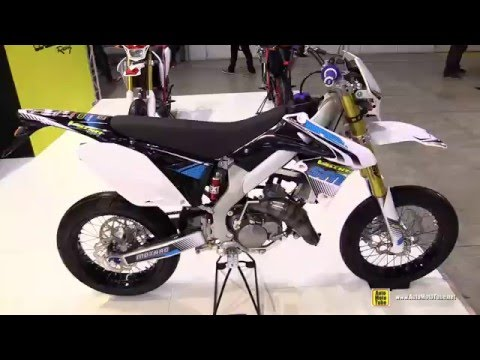 2016 Valenti Racing SM 50 Super Motard - Walkaround - 2015 EICMA Milan