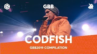 CODFISH | Grand Beatbox Battle 2019 Compilation