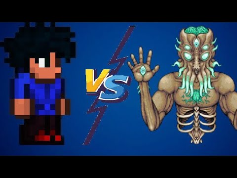 Defeating The Moonlord Terraria Mobile 1.3 (no Battle Area)