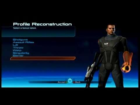 Mass Effect 3 How to reset powers (RESPEC) Shepard by