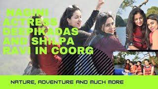 Deepika Das & Shilpa Ravi at Evergreen County Coorg