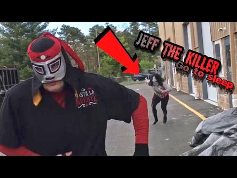 LEATHERFACE REKTS FORMER YOUTUBE CHAMPION! JEFF THE KILLER KIDNAPS SWAT TEAM!