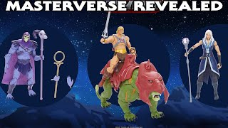 Masterverse Revealed! Let's tąlk about these new He-Man Action Figures and Toon Designs