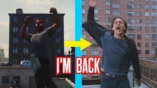 Spider-Man PS4 Recreating Spider-Man 2