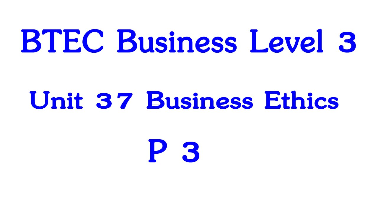 btec unit 2 p3 Assignment 2 — the impact of non-financial resources scenario  your manager was very impressed with the leaflet you prepared and has asked you to do a presentation for a lesson for your local college's btec business level 3 class.