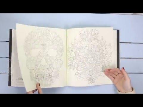Libro para colorear ENCHANTED FOREST - YouTube