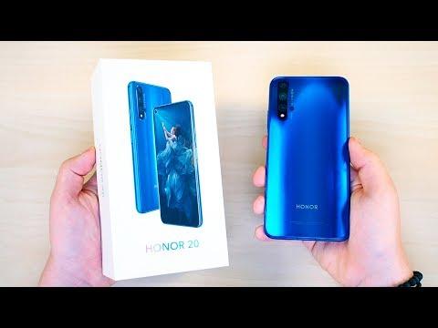 Распаковка Honor 20 - ОН что без Android?