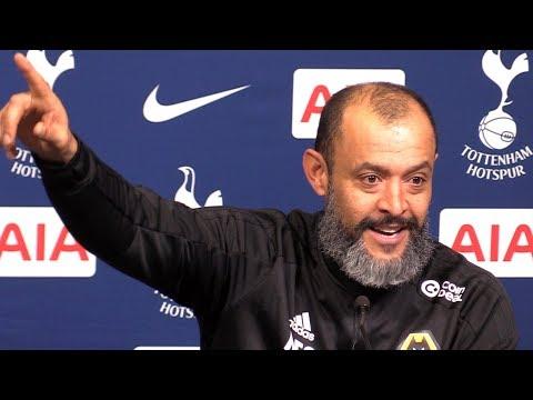 Tottenham 1-3 Wolves - Nuno Espirito Santo Full Post Match Press Conference - Premier League