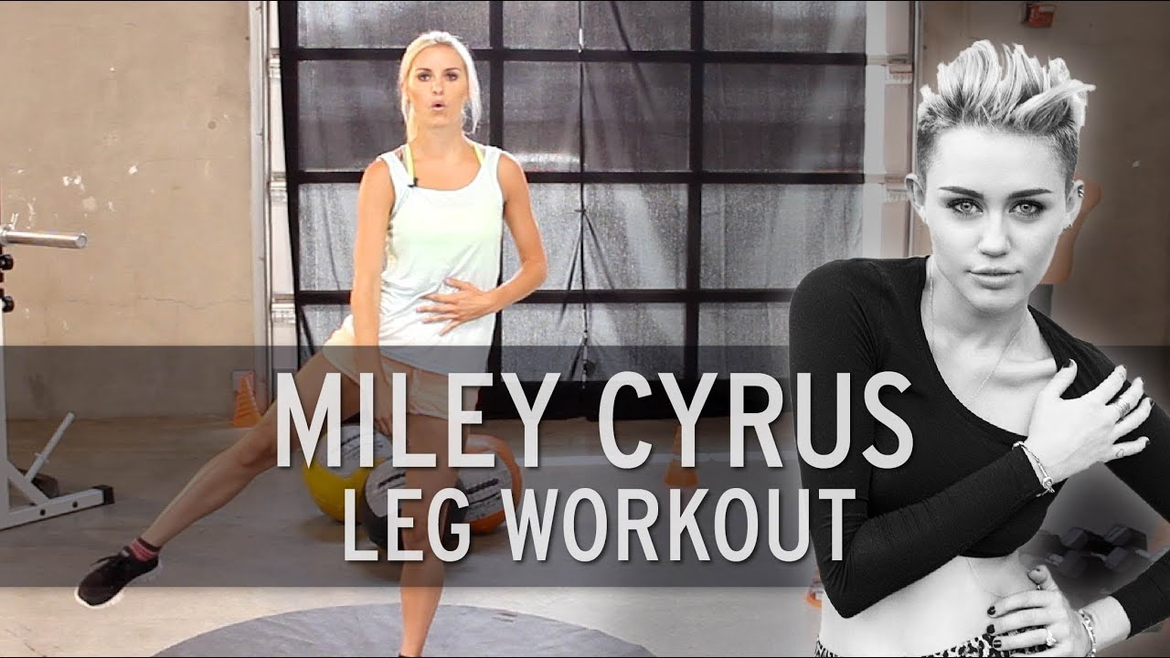 Xhit miley cyrus workout sexy legs youtube