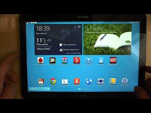 Mobilarena TV: 12,2 hüvelykes Samsung tablet