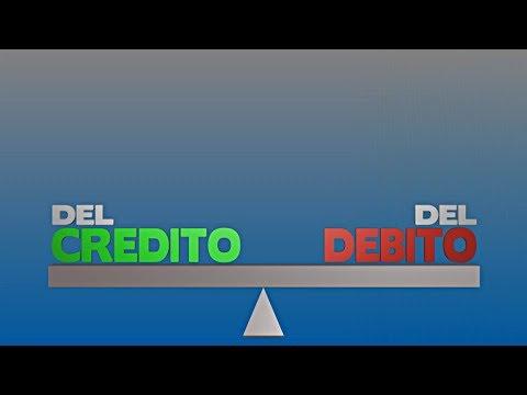 Del credito del debito N.02  - microcredito 20-04-2018