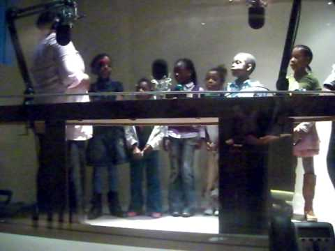 THE A,B,C SONG  - Recording African Children for Trocaire's Lent Appeal in Dublin