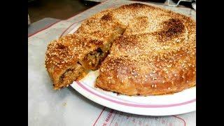 מאפה  בשרי בצק תורכי פילאס צ'וקור עם מלית בשר במהירות וקלות