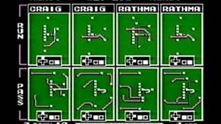 Colts vs 49ers Tecmo Super Bowl (NES) full game, EPIC overtime