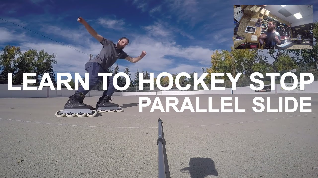 Download How to Hockey Stop on Rollerblades (How to parallel slide)