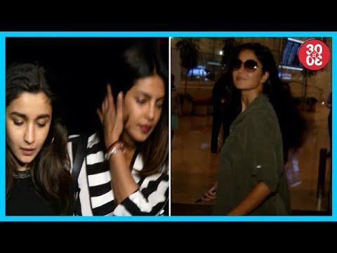 Photographer's Accident Averted While Covering Priyanka-Alia | Katrina Leaves For London