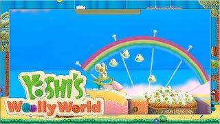Seifenblasen & Flauschvögel #8 🧶 Yoshi's Woolly World | Let's Play Wii U