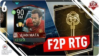 FIFA MOBILE 18 F2P RTG Ep 6 | 1 Million coins & 90 Mata claimed!